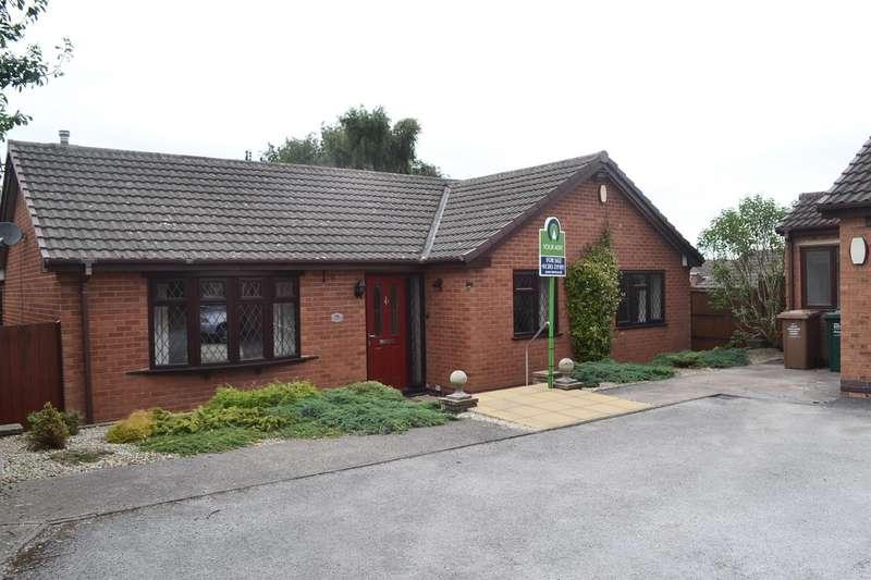 3 Bedrooms Detached Bungalow for sale in Gresley Wood Road, Church Gresley, Swadlincote