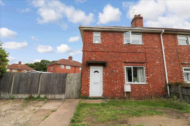 3 Bedrooms Semi Detached House for sale in Usher Green, Lincoln