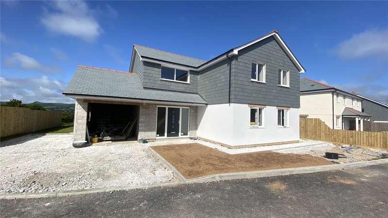 House for sale in Blacksmiths Meadow, Coads Green, Launceston, Cornwall, PL15