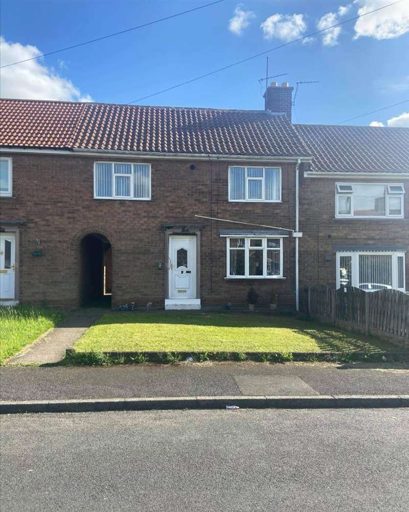 3 Bedrooms Terraced House for sale in Shakespeare Drive, Dinnington, Sheffield