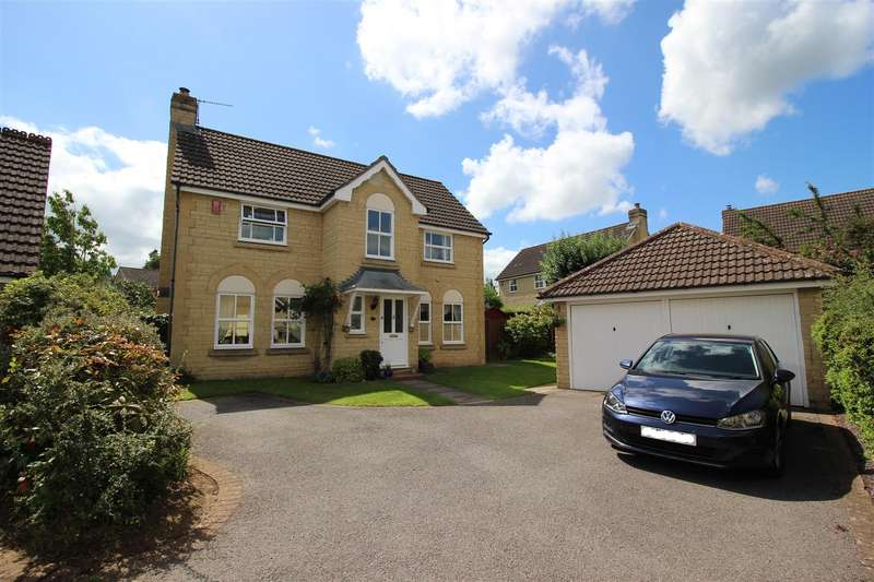 4 Bedrooms Detached House for sale in Lansdowne Crescent, Derry Hill, Calne