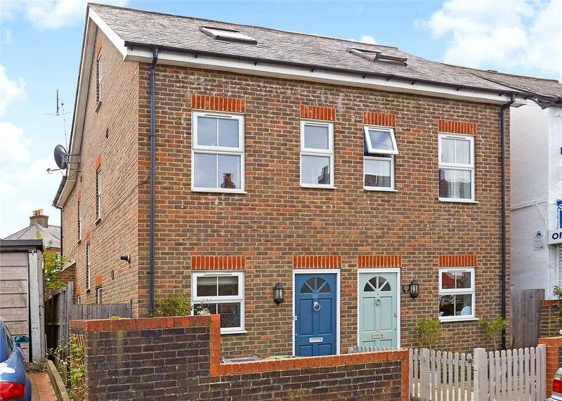 4 Bedrooms Semi Detached House for sale in Lesbourne Road, Reigate, Surrey, RH2