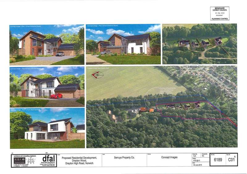 4 Bedrooms Detached House for sale in Plot 3 Drayton Wood, Off Drayton High Road, Norwich
