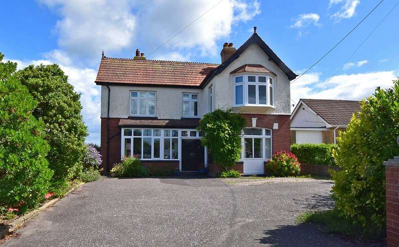 4 Bedrooms Detached House for sale in Lyme Road, Axminster, Devon