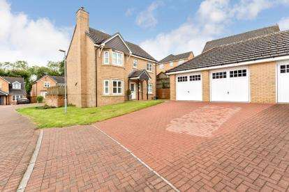 4 Bedrooms Detached House for sale in Cairngorm Court, Hamilton