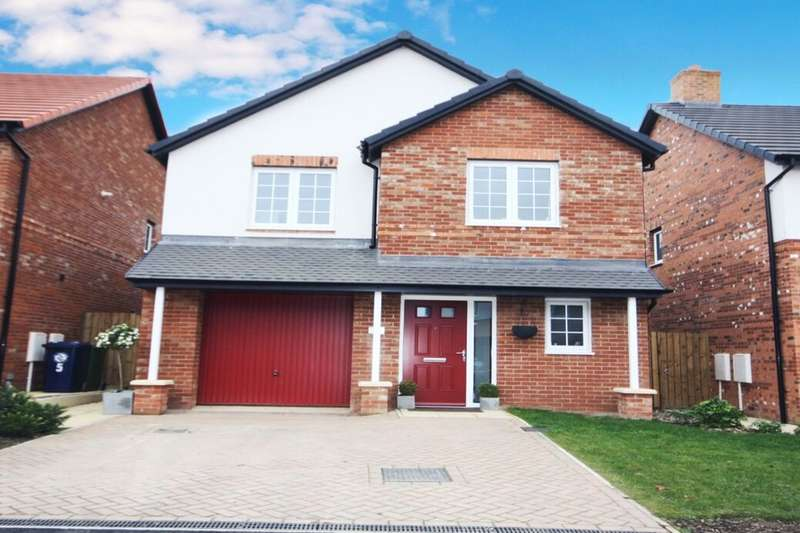 4 Bedrooms Detached House for sale in Hunters Hill Close, Guisborough, TS14