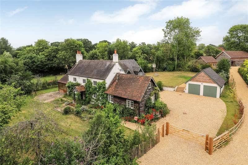 4 Bedrooms Detached House for sale in Chapel Lane, Timsbury, Romsey, SO51