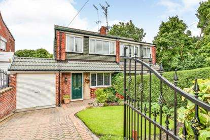 2 Bedrooms Semi Detached House for sale in Shepherd Drive, High Green, Sheffield, South Yorkshire