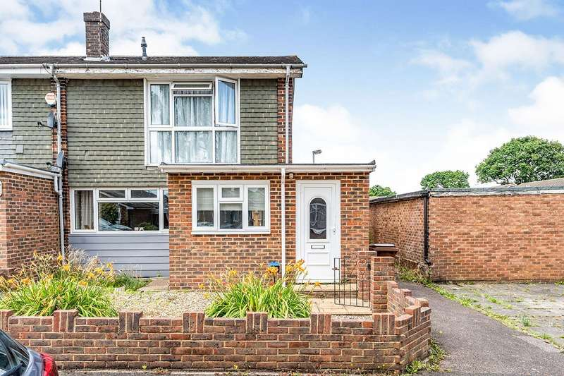 2 Bedrooms End Of Terrace House for sale in Conrad Close, Rainham, Kent, ME8