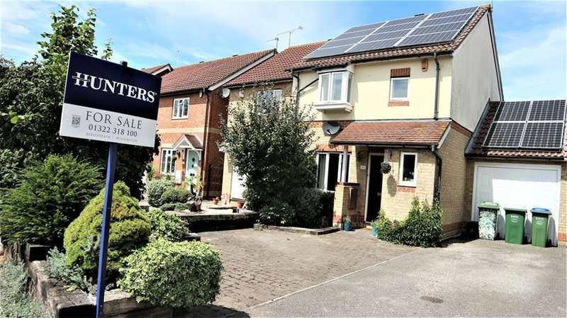 3 Bedrooms Semi Detached House for sale in Cookson Grove, Northumberland Heath, Kent, DA8 1YE