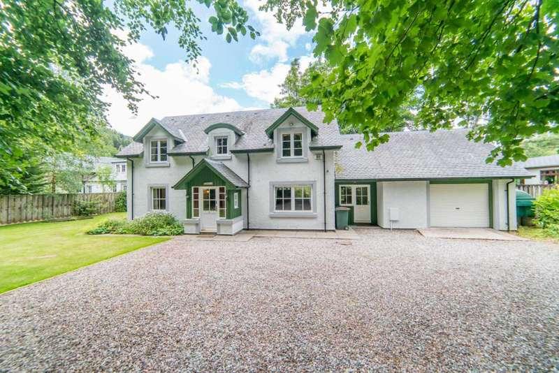 3 Bedrooms Detached House for sale in Glenalbyn House, Station Road, St Fillans