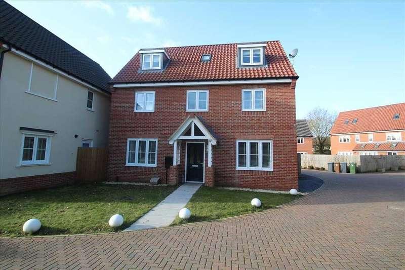 4 Bedrooms Detached House for sale in The Copse, Martlesham