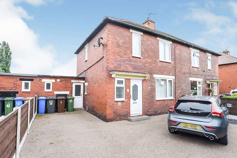 2 Bedrooms Semi Detached House for sale in Shoecroft Avenue, Denton, Manchester, Greater Manchester, M34