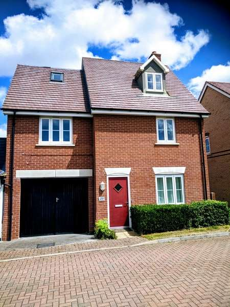 4 Bedrooms Detached House for sale in Santa Maria Lane, Milton Keynes, Buckinghamshire, MK3