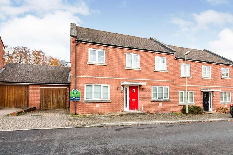 4 Bedrooms Semi Detached House for sale in Owen Way, Basingstoke, Hampshire, RG24