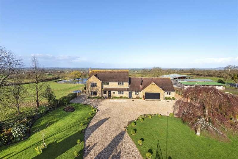 5 Bedrooms Detached House for sale in Barton Court Farm, Martock Lane, Ash, TA12