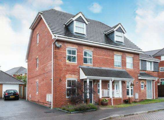 3 Bedrooms End Of Terrace House for sale in Beggarwood, Basingstoke, Hampshire