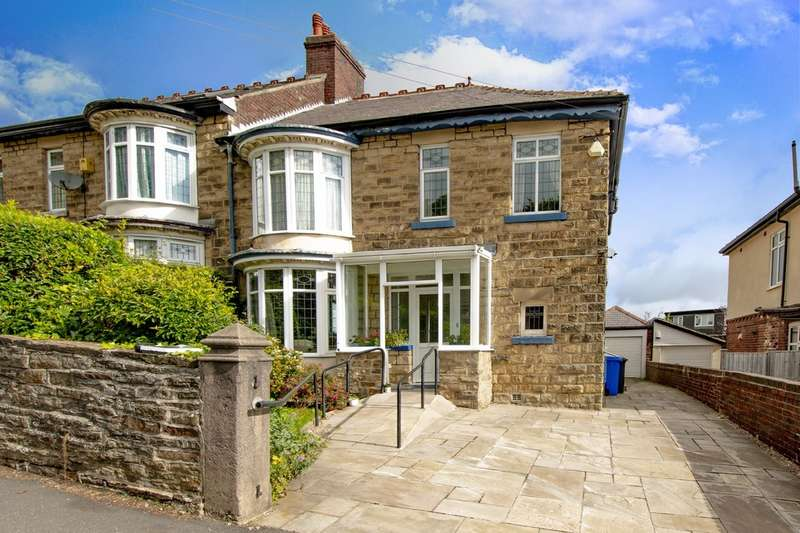 4 Bedrooms Semi Detached House for sale in 14 Ringinglow Road, Ecclesall, S11 7PP