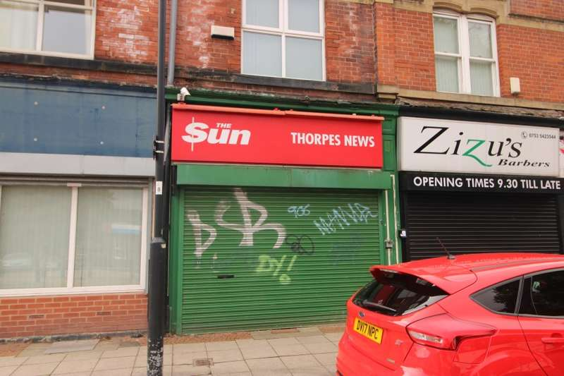 Retail Property (high Street) Commercial for sale in 133 Upperthorpe Road, Sheffield, South Yorkshire