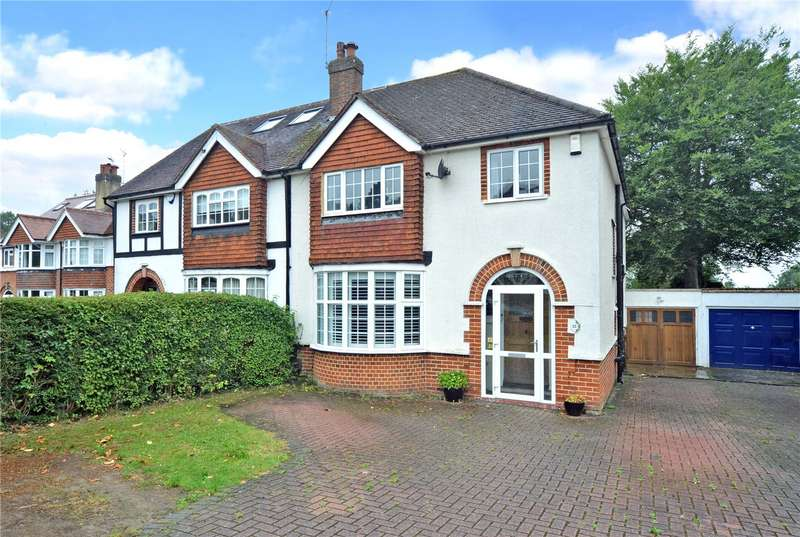 4 Bedrooms Semi Detached House for sale in Roundwood View, Banstead, Surrey, SM7