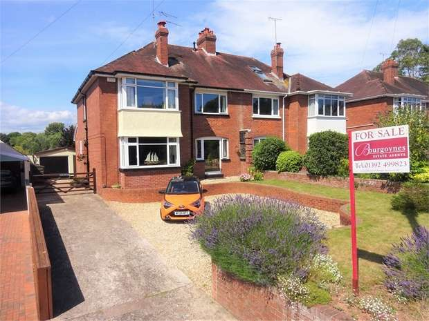 4 Bedrooms Semi Detached House for sale in Honiton Road, EXETER