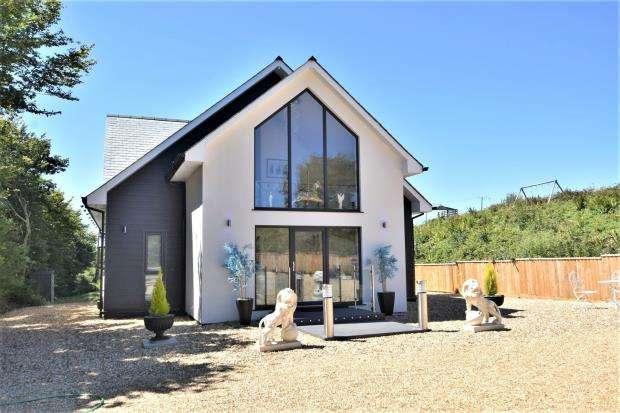 4 Bedrooms Detached House for sale in Dunstan Lane, St. Mellion, Saltash, Cornwall