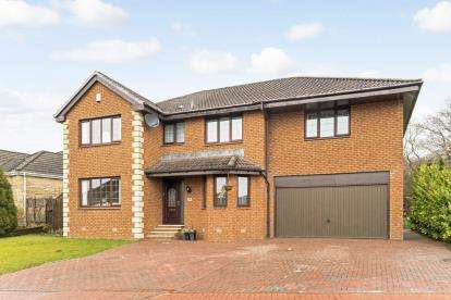 5 Bedrooms Detached House for sale in Braid Avenue, Motherwell