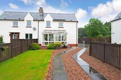2 Bedrooms Semi Detached House for sale in Gentle Croft, Braco
