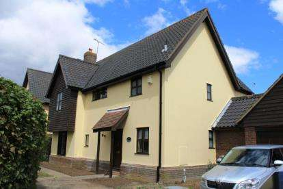 Detached House for sale in Wetherden, Stowmarket, Suffolk
