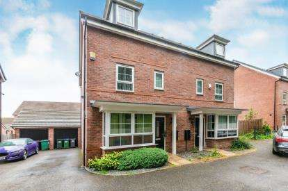 4 Bedrooms Semi Detached House for sale in Parkers Way, Tipton, West Midlands