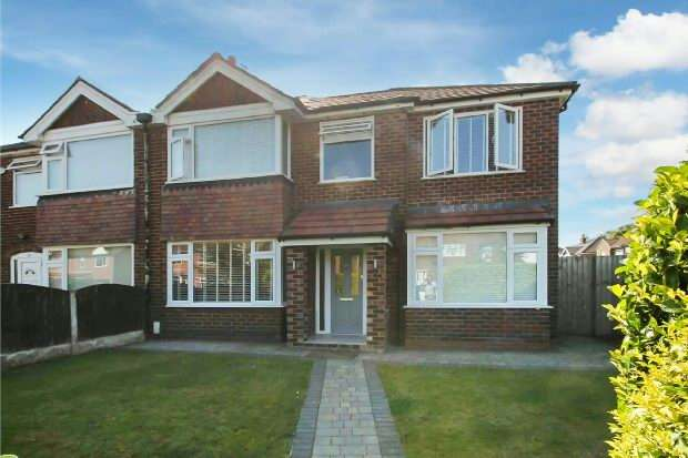 4 Bedrooms Semi Detached House for sale in Firs Road, Sale