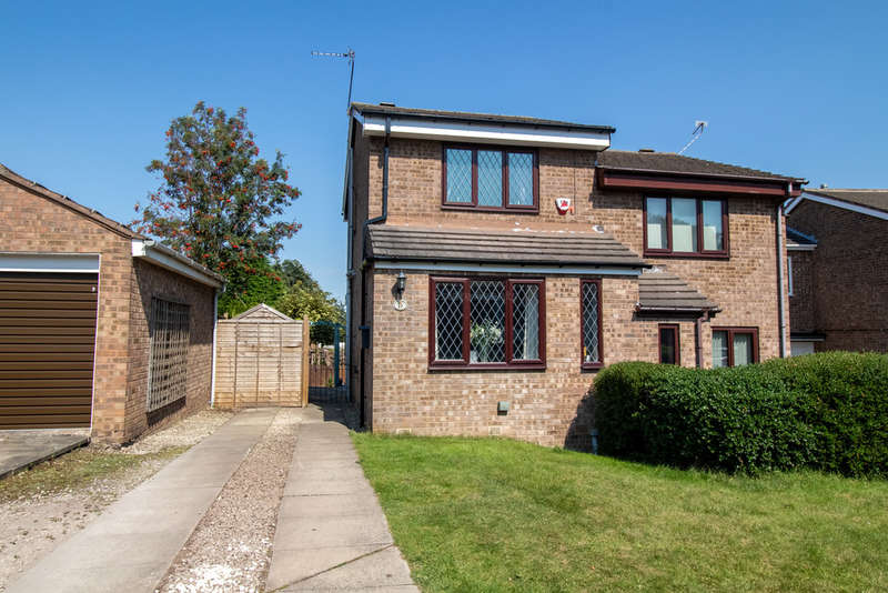 2 Bedrooms Semi Detached House for sale in Ralston Grove, Halfway, Sheffield