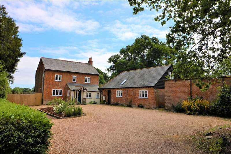 6 Bedrooms Detached House for sale in Flexford Lane, Sway, Lymington, Hampshire, SO41