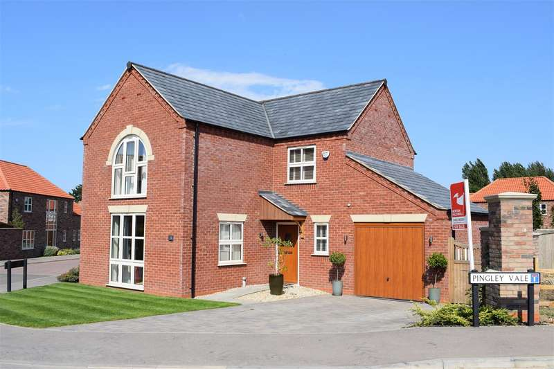 4 Bedrooms Detached House for sale in Pingley Park, Brigg