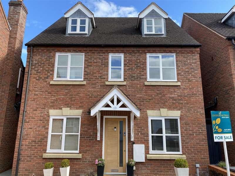 4 Bedrooms Detached House for sale in Hilda Peers Way, Bewdley