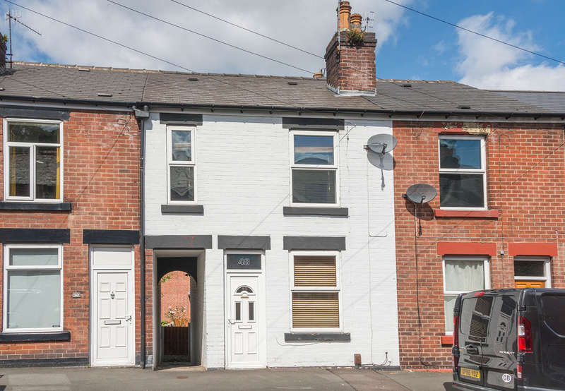 2 Bedrooms Terraced House for sale in Ulverstone Road, Woodseats