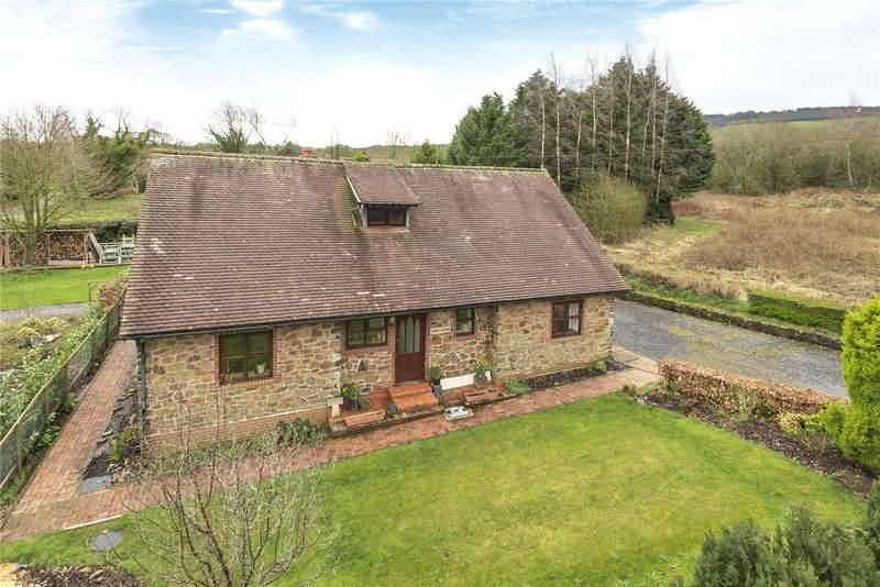 4 Bedrooms Detached Bungalow for sale in 5 Vicarage Road, Ditton Priors, Bridgnorth, Shropshire, WV16 6SP