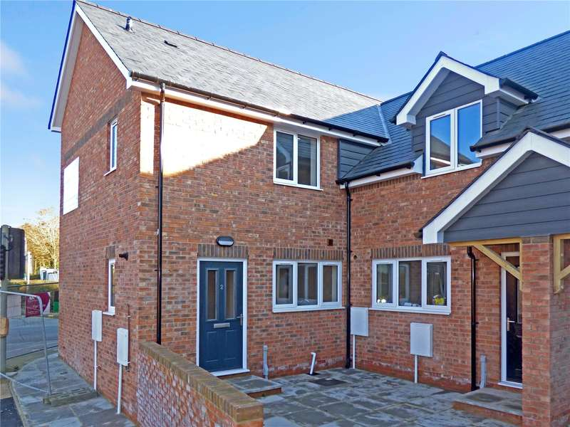 2 Bedrooms End Of Terrace House for sale in 2 Plasnewydd, Brecon Road, Builth Wells, Powys, LD2 3ED
