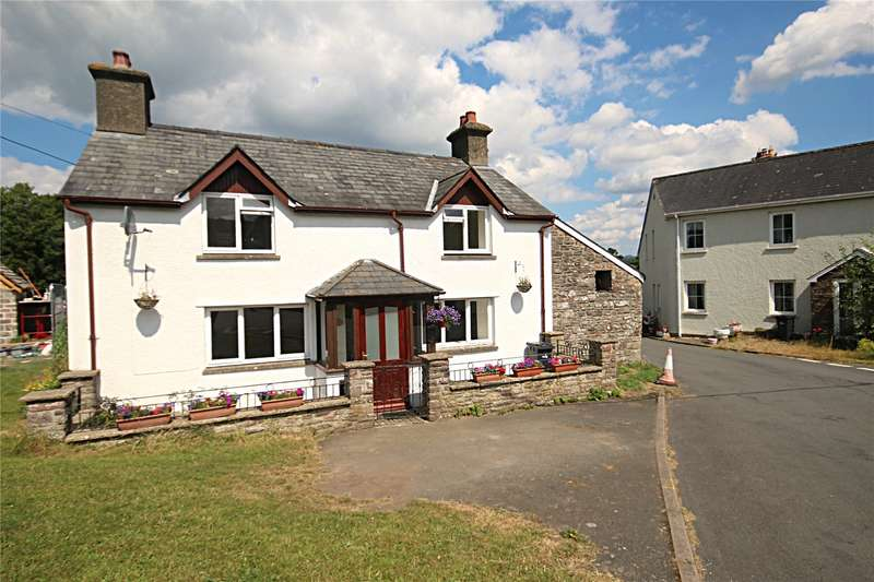 2 Bedrooms Link Detached House for sale in Duffryn Road, Llangynidr, Crickhowell, Powys, NP8 1NT