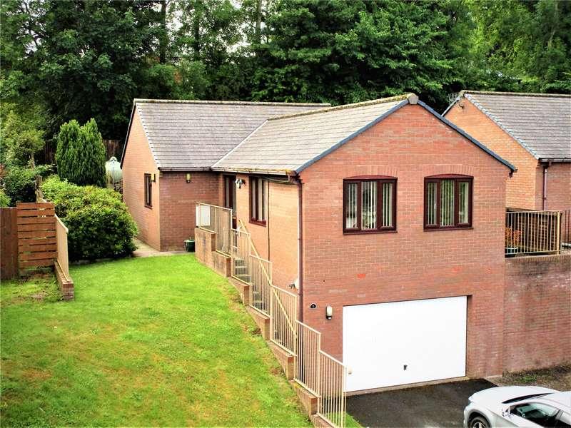 3 Bedrooms Detached House for sale in 7 Dan-y-Bryn, Glasbury, Hereford, Powys, HR3 5NH