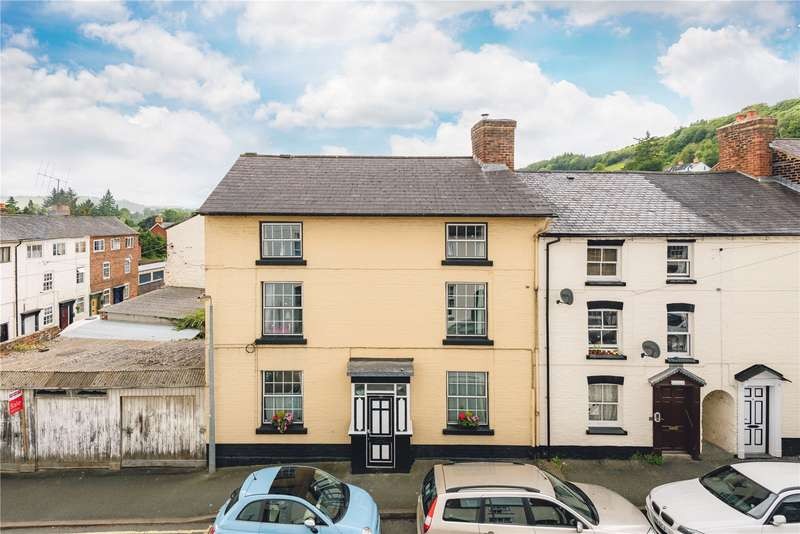 5 Bedrooms Terraced House for sale in 10 Crescent Street, Newtown, Powys, SY16 2HB