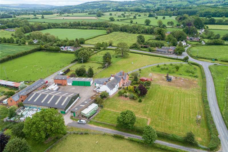 6 Bedrooms Equestrian Facility Character Property for sale in Montgomery, Powys, SY15 6SP