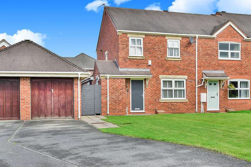 3 Bedrooms End Of Terrace House for sale in Birkdale Close, Tytherington, Cheshire, SK10
