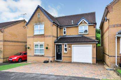 4 Bedrooms Detached House for sale in Grafton Close, Sutton-In-Ashfield, Nottinghamshire, Notts