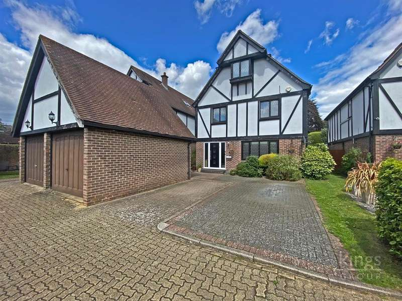 4 Bedrooms Detached House for sale in Aragon Close, Enfield