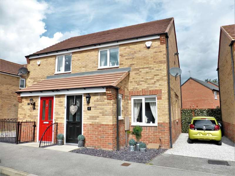 2 Bedrooms Semi Detached House for sale in Barrow Sykes, Bolton Upon Dearne, Rotherham, S63 8FB