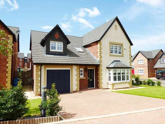 4 Bedrooms Detached House for sale in Old Tarnbrick Way, Kirkham, Lancashire, PR4 2SA
