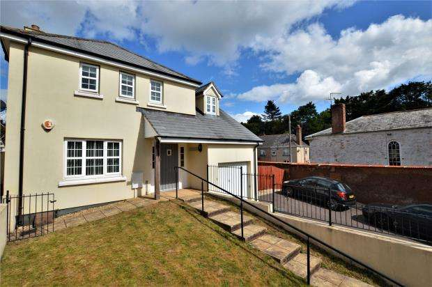 4 Bedrooms Detached House for sale in Saxon Close, Crediton, Devon