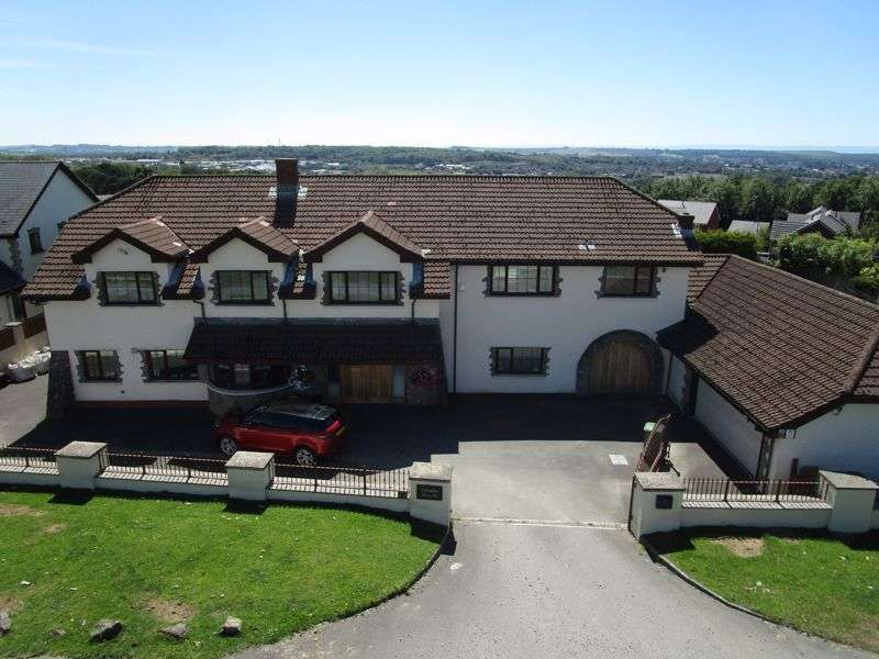 5 Bedrooms Property for sale in Fronwen, Litchard Hill, Bridgend