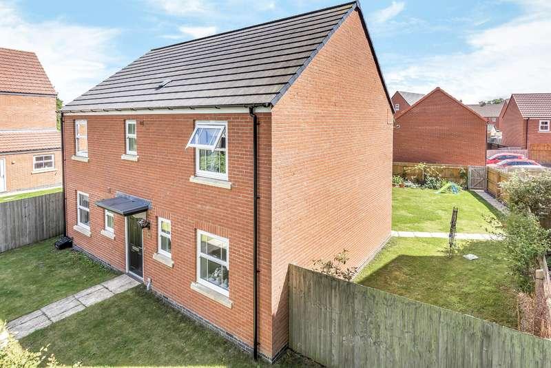 4 Bedrooms Detached House for sale in Bells Yard Close, Horncastle, Lincs, LN9 5BT